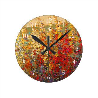 murale de peinture horloges murale de peinture pendules murales. Black Bedroom Furniture Sets. Home Design Ideas