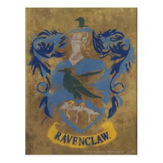 Peinture rustique de Harry Potter   Ravenclaw Carte Postale