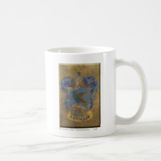 Peinture rustique de Harry Potter | Ravenclaw Mug Blanc