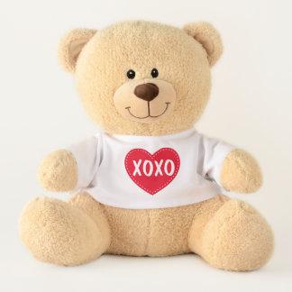Peluche d'ours de nounours de Saint-Valentin de
