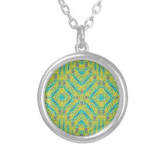 Pendentif de collier de motif de fractale