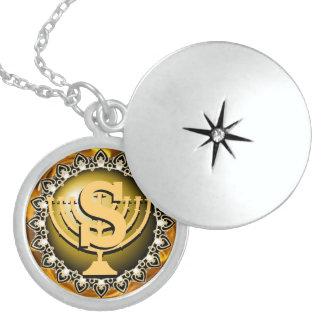 Pendentif Hannukkah d'argent sterling