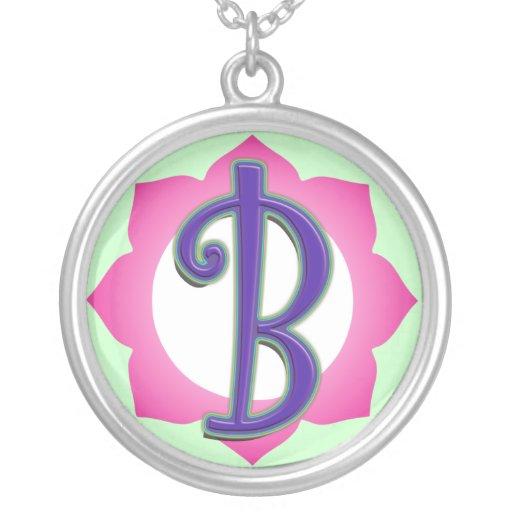 Pendentif initial de B