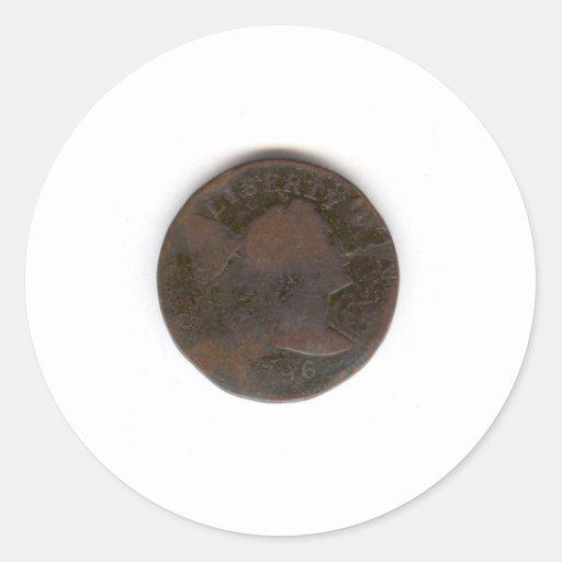 PENNY 1796 AUTOCOLLANTS