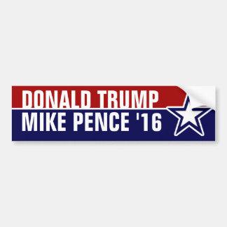 Penny de Donald Trump Mike en 2016 Autocollant De Voiture