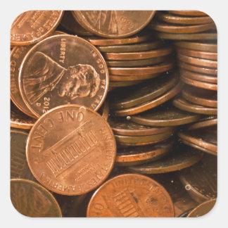 Penny Stickers Carrés