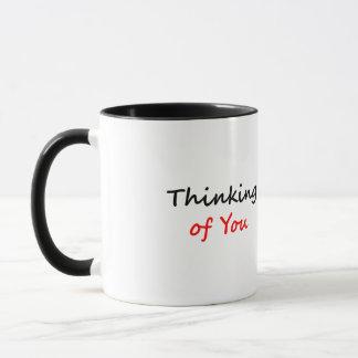 Pensée à vous mug