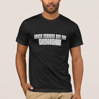Pensez en dehors du T-shirt de boîte dans le noir