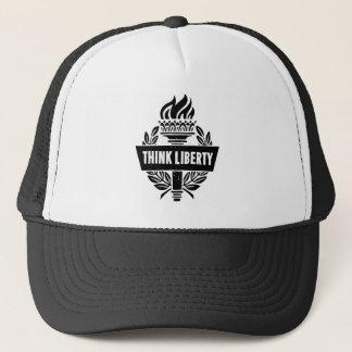 Pensez la liberté - casquette de camionneur