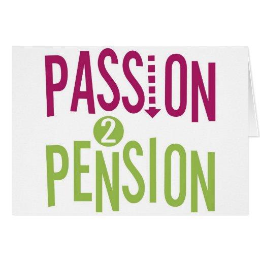 Pension de la passion 2 cartes de vœux