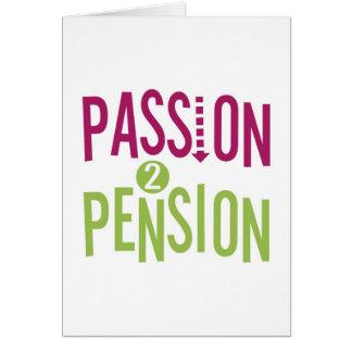 Pension de la passion 2 carte de vœux