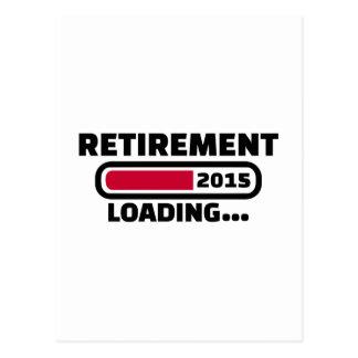 Pensionering 2015 briefkaart
