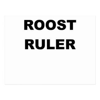 PERCHOIR RULER.png Carte Postale