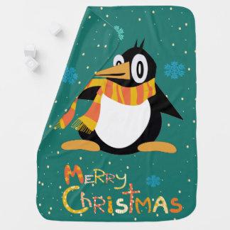 Percius la couverture de bébé de Joyeux Noël de