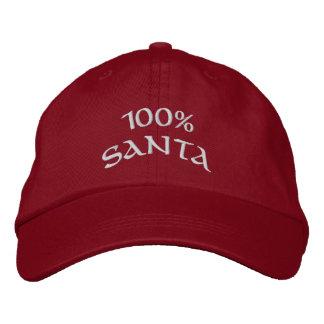 Père Noël 100% Casquette Brodée