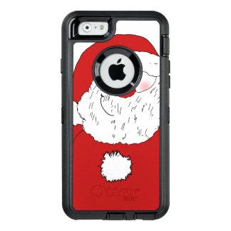 Père Noël de rougissement mignon Coque OtterBox iPhone 6/6s