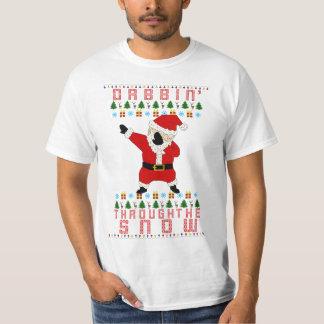 Père Noël tamponnant T-shirt