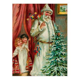 Père Noël vintage Cartes Postales