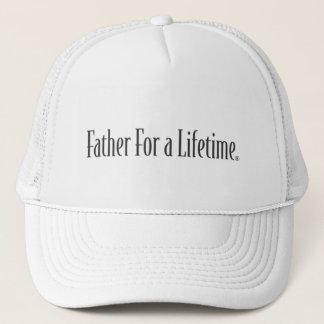 Père pour un casquette de vie