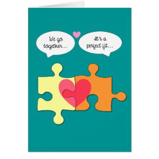 Perfectionnez la carte convenable de Valentine de