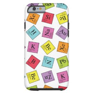 Periodieke Elementen Tough iPhone 6 Hoesje