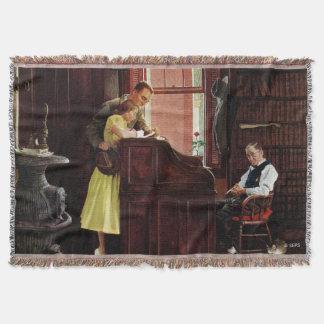 Permis de mariage par Norman Rockwell Couverture