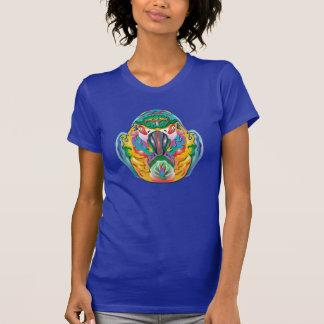 Perroquet coloré t-shirt