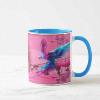 Perroquet d'imaginaire - tasse de sonnerie