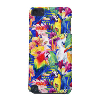 Perroquets d'aquarelle coque iPod touch 5G