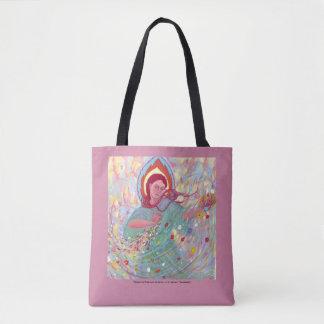 Persephone apporte le sac fourre-tout à ressort