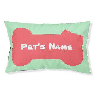Personaliseerde het roze Gekauwde Been het Hondenbedden