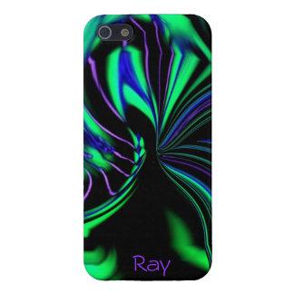 *Personalize* étranger au néon de cas de l'iPhone  Coques iPhone 5
