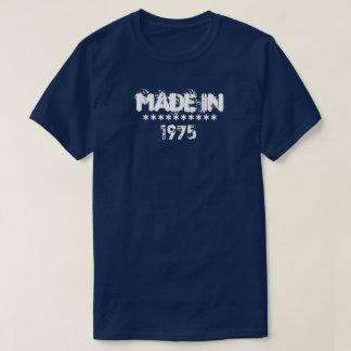 """Personnalisable fait dans """"1975"""" chemises t-shirt"""
