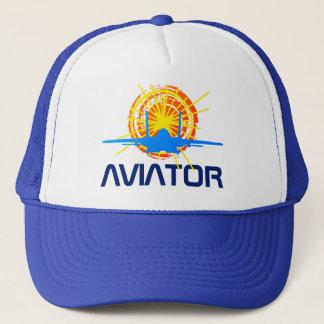 Personnalisable un-de-un-aimable d'aviateur beau casquette