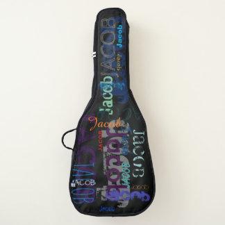 Personnalisé répétant le sac de guitare de lettres