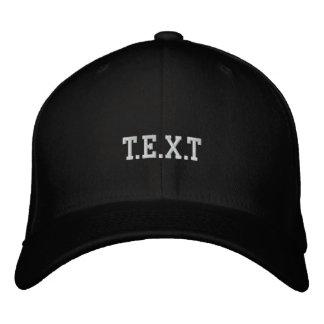 personnaliser casquette brodée