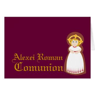 """Personnaliser de """"Comunion"""" - Carte De Vœux"""