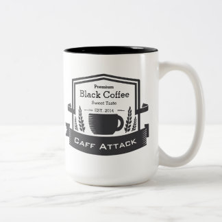 Personnalisez la date établie rétro par café de tasse 2 couleurs