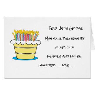 Personnalisez la salutation de joyeux anniversaire carte