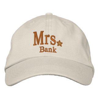 Personnalisez M. et Mme Embroidery Embroidered Cap Casquettes De Baseball Brodées