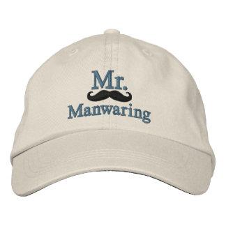 Personnalisez M. et Mme Embroidery Embroidered Cap Casquette De Baseball