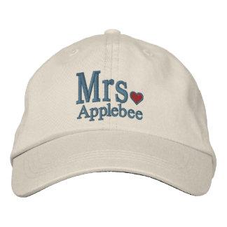 Personnalisez M. et Mme Embroidery Embroidered Cap Casquette De Baseball Brodée