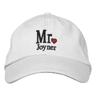 Personnalisez M. et Mme Embroidery Embroidered Cap Chapeau Brodé