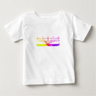 Perspective de couleur, astronomie Zetetic par T-shirt Pour Bébé