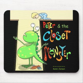 Peter et le monstre de cabinet, couverture tapis de souris