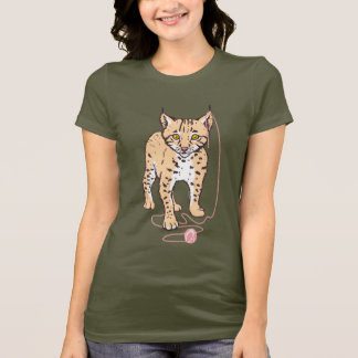 Petit animal de Lynx T-shirt