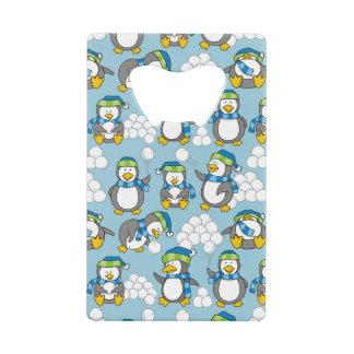Petit arrière - plan de pingouins