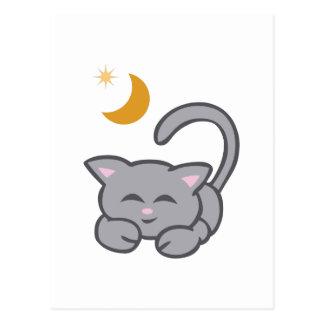 PETIT CAT DE SOMMEIL CARTE POSTALE