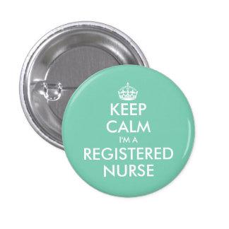 Petit gardez le calme que je suis des boutons d'un badge rond 2,50 cm