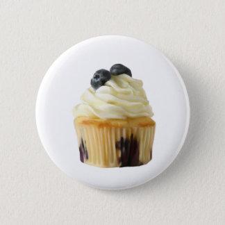 Petit gâteau de myrtille badge rond 5 cm